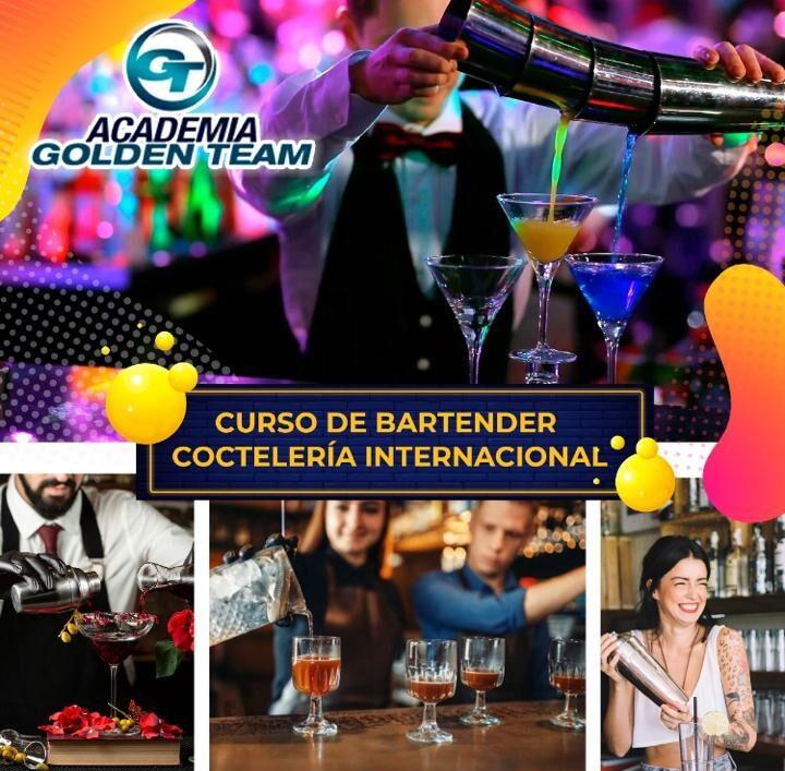 Bartender y coctelería